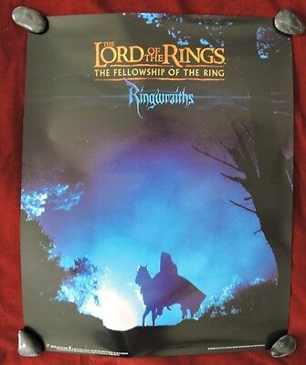"""Lord Of The Rings / Original Ringwraith Movie  Poster - 16"""" X 20"""""""