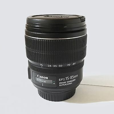 Canon EF-S 15 - 85mm  3.5 - 5.6 IS USM