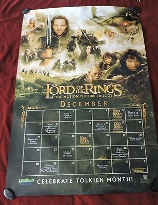 """Lord Of The Rings Trilogy Tolkien Glossy Posters  - 27"""" X 40"""" / Rare 2003"""