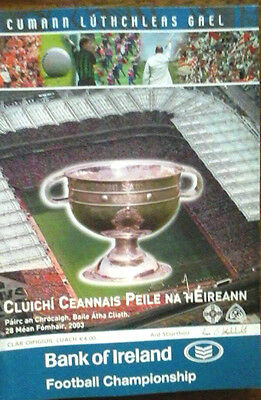 Tyrone V Armagh 2003 Gaa All Ireland Gaelic Football Final