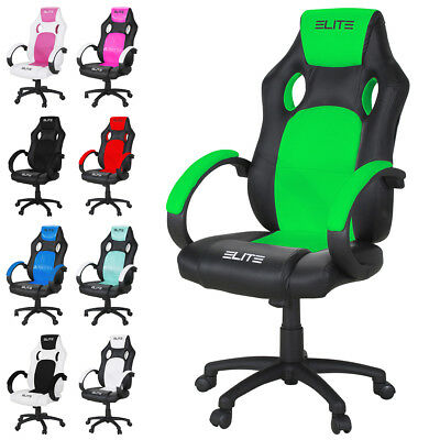 Office Chair Racing Gaming Chair Elite mg-100 Desk Chair Turn Chair Sport Seat