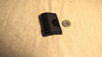 Genuine CANON A-1/AE-1 Program Motor Drive Cover Cap + Action Grip-FREE SHIP