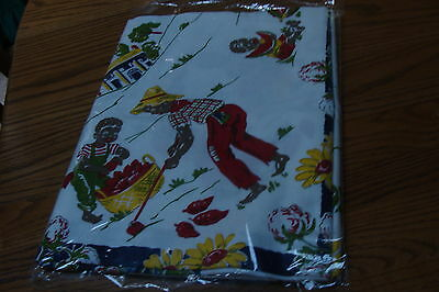 New In  Package  Vintage Mammy Tablecloth