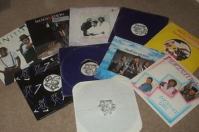 "10 x 12""   Imagination Vinyl Collection          CLASSIC 80's SOUL / DISCO!!"
