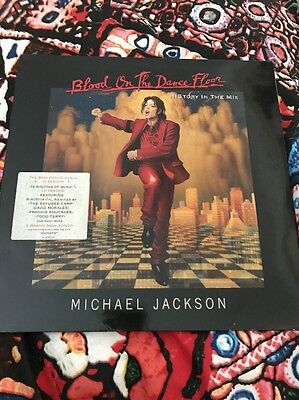 Michael Jackson Blood On The Dance Floor History In The Mix LP