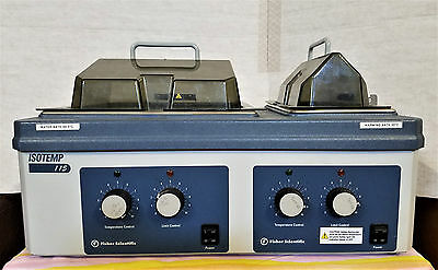 Fisher Scientific Isotemp 115 Heated Water Bath Double Chamber 15-460-15