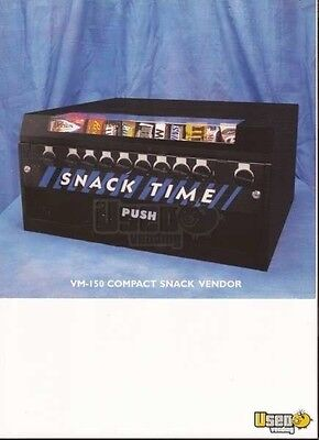 SNACK TIME VENDING MACHINE TABLE TOP VM150 New In The Box Complete Paper & Keys