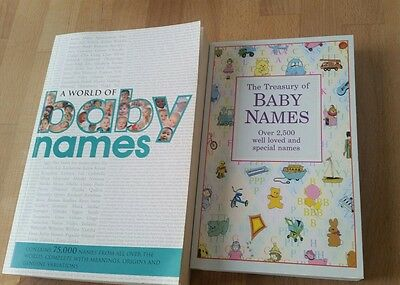 baby names book bundle