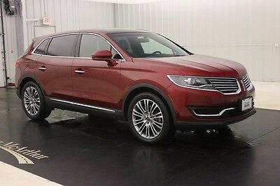 2016 Lincoln MKX RESERVE AWD NAV SUNROOF MSRP $50760 NAVIGATION BRIDGE OF WEIR LEATHER SEATS 360 DEGREE CAMERA PANORAMIC VISTA ROOF