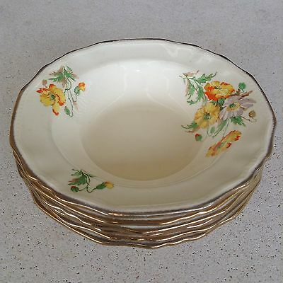 Alfred Meakin Densby Salad Bowls X 6