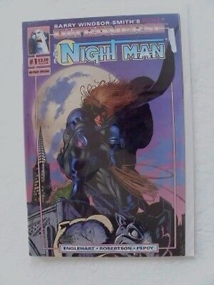 THE NIGHT MAN # 1 Ultraverse  1993 Malibu Comic New Unread Sealed