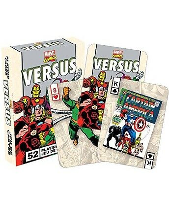 Marvel Comics Versus retro set of 52 playing cards *Brand New & Sealed*