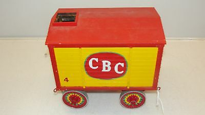 Model #4 Cole Bros Circus Dining Dept Ice Wagon Trailer