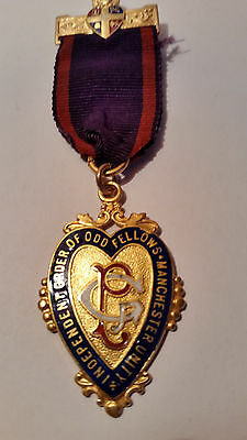 Royal Order of Odd Fellows medal 1952 Manchester Unity