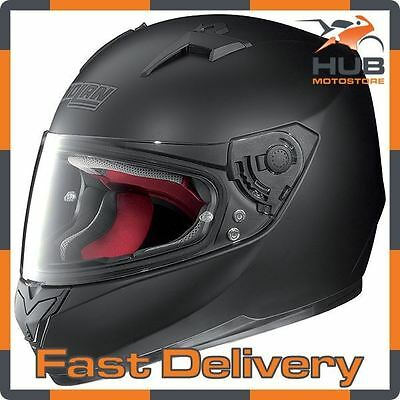 Nolan N64 Smart Full Face Motorcycle Motorbike Crash Helmet  - Matt Black