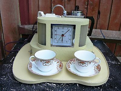 Old Vintage Goblin Teasmade with Tray 1950s D21 England