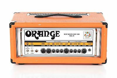 2012 Orange Rockerverb 100 Watt MKII Guitar Head -MADE IN ENGLAND-