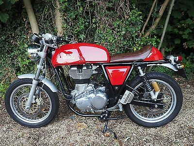 2015 ROYAL ENFIELD CONTINENTAL GT  535cc  ONLY 3000 MILES. No Reserve