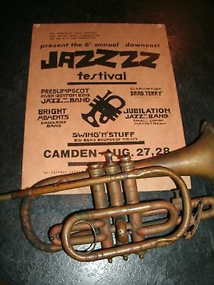 Relisted w/ Sweetened Deal ~ Unmarked Vintage Cornet ~ Take A Peek!