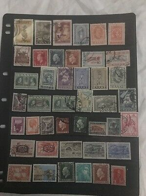 stamps Greece - MH and used - lot 602