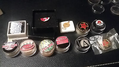 Mc Donalds, Wendy's and Others 11 Promo Pins Lot