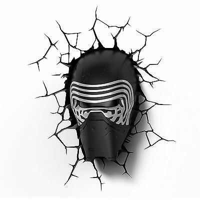 3D Light FX - Applique murale 3D Deco Light Star Wars Kylo Ren - (I4y)
