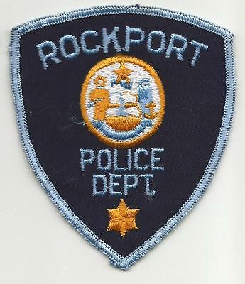 Rockport MAINE ME Police patch OLD