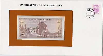 Banknote of all Nations Syria 1 Pound
