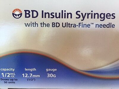 BD Syringes 100 Count New 2 Boxes Factory Sealed