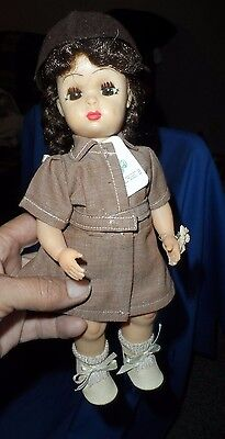 Tiny Terri Lee Brownie Doll with Girl Scout tag and DAISY on Hand *MINT*MINT