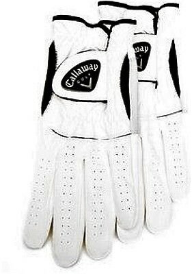 Men's Right Golf Glove - Callaway CX 2 pack Size M-Reg