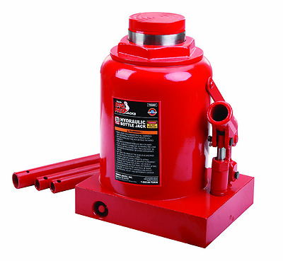 Torin T95007 Big Red Hydraulic Bottle Jack, 50 Ton Capacity