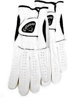 Men's Left Golf Glove - Callaway CX 2 pack Size M-Reg
