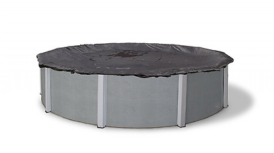 Blue Wave 24-ft Round Rugged Mesh Above Ground Pool Winter Cover