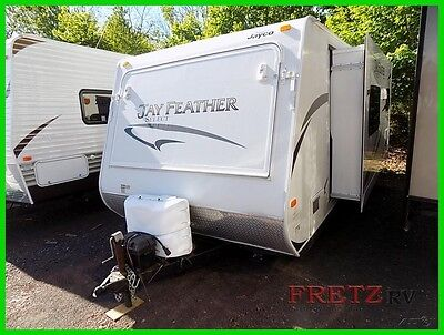 2011 Jayco Jay Feather Select X23J Hybrid Travel Trailer RV w/Slide Camper 11