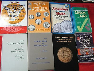Book Lot: (32) New Books On U.s. & Ww Coins & Paper Money! New!