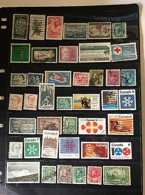 stamps  Canada  -  MLH and Used  - Lot 407
