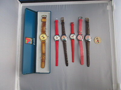 Disney watches - Mickey Mouse, Minnie Mouse, Cinderella, Tinkerbell