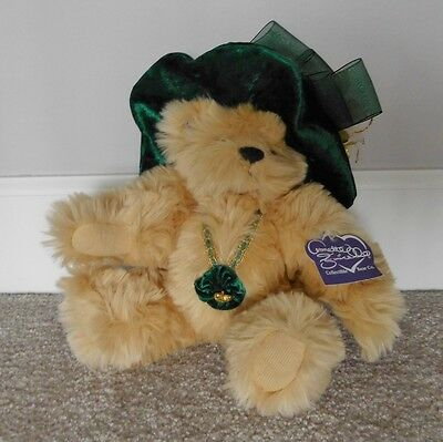 "Annette Funicello Limited Edition Victorian Series ""Holly"" Teddy Bear (#241)"