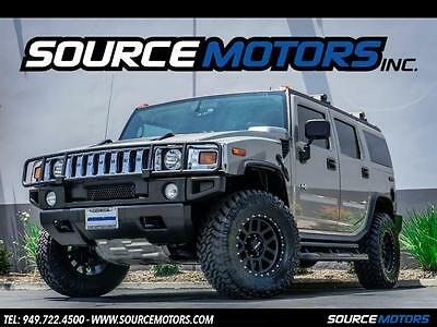 2005 Hummer H2 Adventure Series 2005 Hummer H2 SUV, Leather, Method Wheels, Brush Guard, Roof Rack, Side Steps