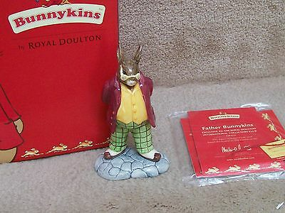 Royal Doulton Bunnykins FATHER DB404 NRFB 2005 ICC EXCLUSIVE SIGNED M DOULTON