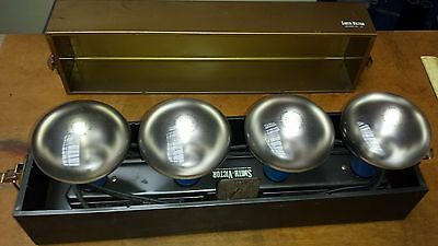 Vintage Smith Victor Gl-43 4 Socket Photography Light Bar