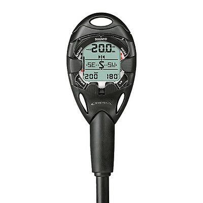 SUUNTO COBRA3 BLACK - Air integrated Tauchcomputer with large Scope of functions