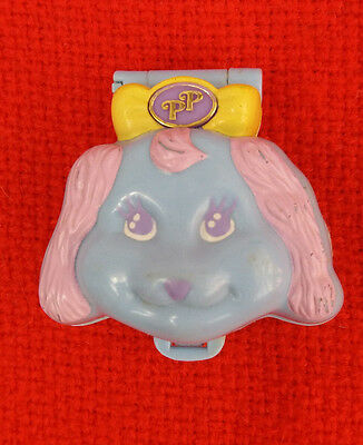 Vintage Bluebird Polly Pocket 1990's Dazzling Dog Show Compact