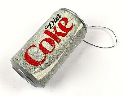 Kurt Adler Diet Coca-Cola Can Christmas Ornament NEW with Tags