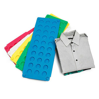 Home Magic Laundry Fast Speed Folder Clothes T-Shirt Fold Board Easy Use Tool