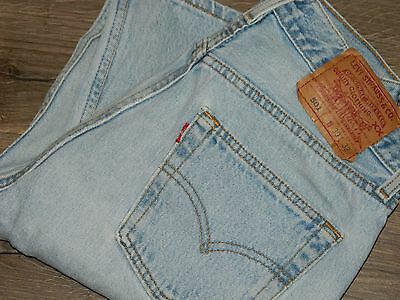 Women's Vintage Levi's 501 Button Fly 30 X 32 PERFECTLY Faded JEANS GREAT LOOK!!