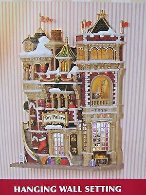 Lemax Building Facade: Toy Palace Village Collection Essex Street Lighted #45093
