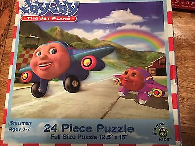 Jay Jay the Jet Plane PBS Puzzle - 24 pieces