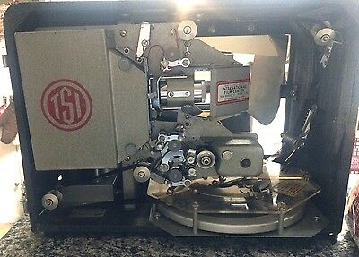 TSI MOVIEMATIC MODEL 6 16mm Sound Projector WORKS & COMES WITH FILM PRE-LOADED